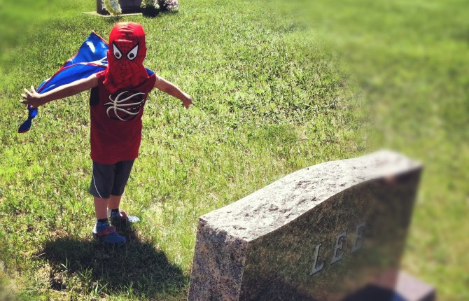 What the Real Superheroes are Wearing (A Memorial Day Tribute)
