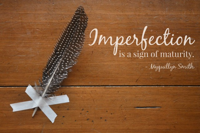 the nesting place, myquillyn smith, perfection, imperfection