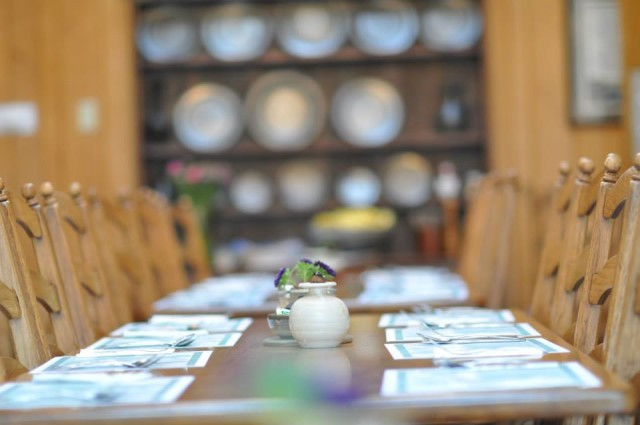 Laity Lodge, dining hall