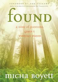 Found, #foundgrace, Micha Boyett