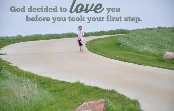 running, God's love