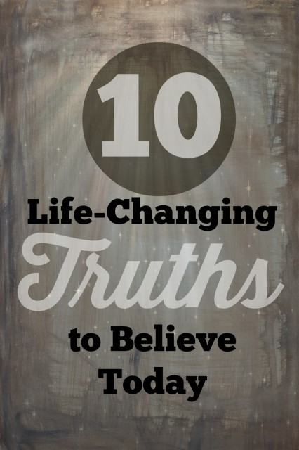Truths to believe