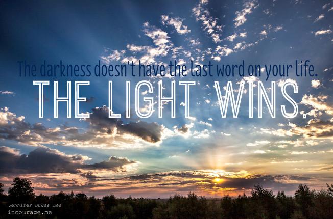 light wins