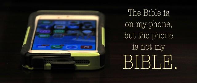 IPHONE, BIBLE