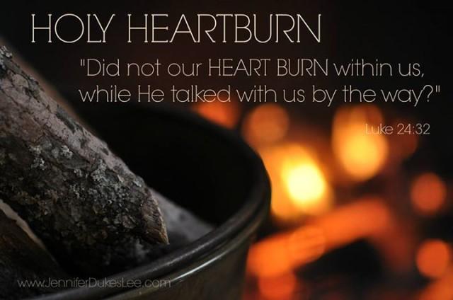holy heartburn