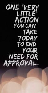 approval, very little