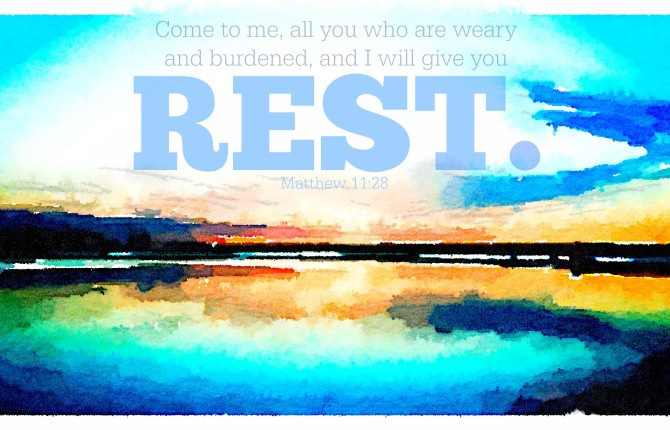 The Very Best News for the Weary and the Burdened (November to Remember -- 11.30.2014)