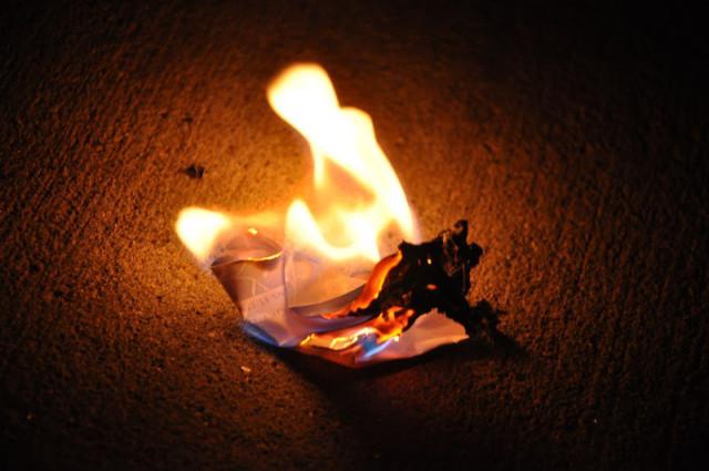 burning sins