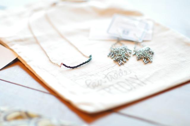 Fair Trade Friday necklace