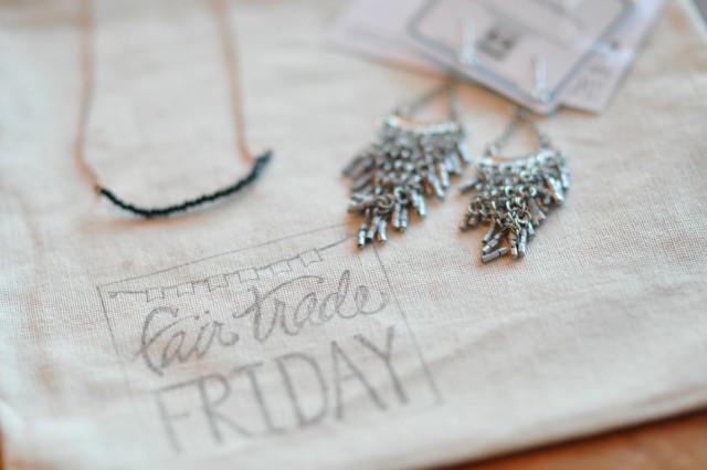 Fair Trade Friday earrings