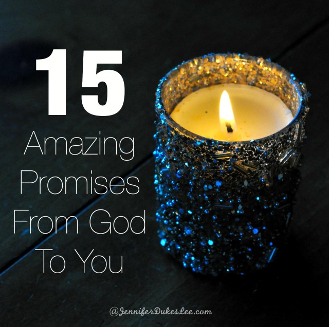 bible verses, god's promises