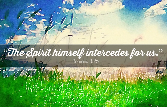 holy spirit, intercession, prayer