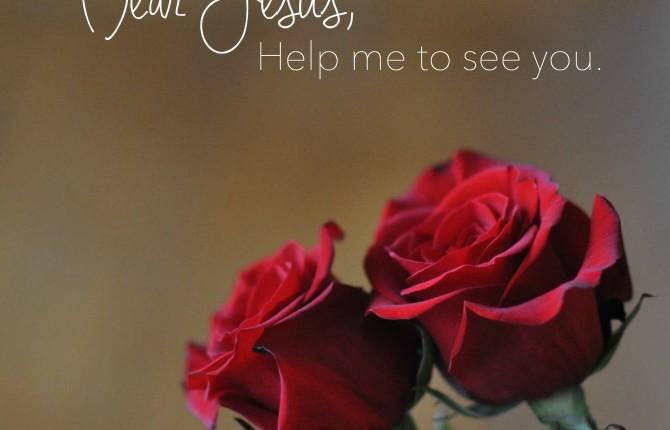 Roses, Jesus