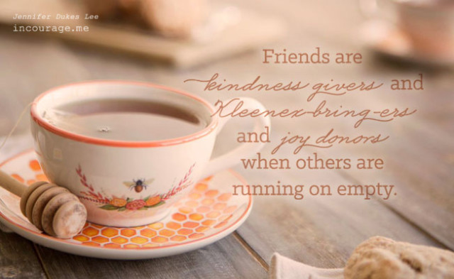 dayspring tea cup, friendship, how to be a friend