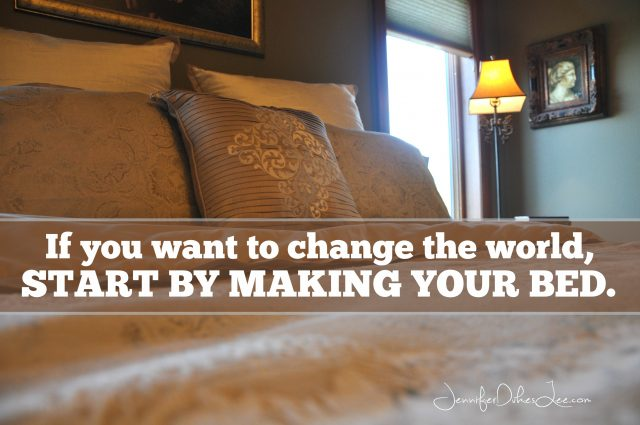 Want to change the world start by making your bed for When do you replace a mattress