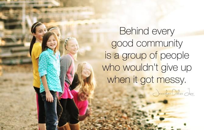 #TellHisStory: When Community is Hard Work