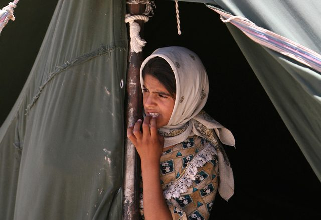 Illustrative photo of a refugee in Iraq. (Photo: © Reuters)