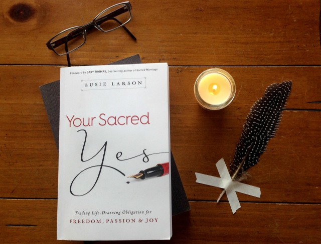 Your Sacred Yes, Susie Larson