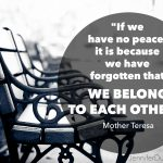 mother teresa, peace