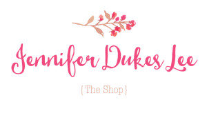Jennifer Dukes Lee shop button