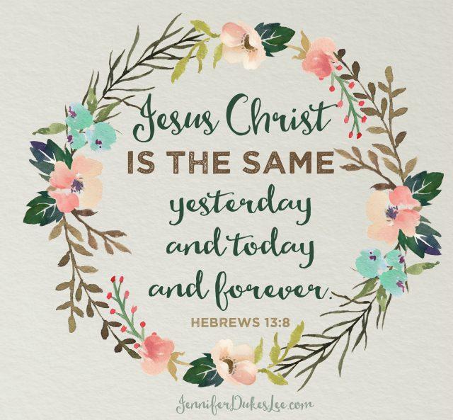 jesusisthesame