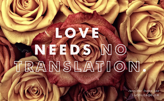 love needs no translation