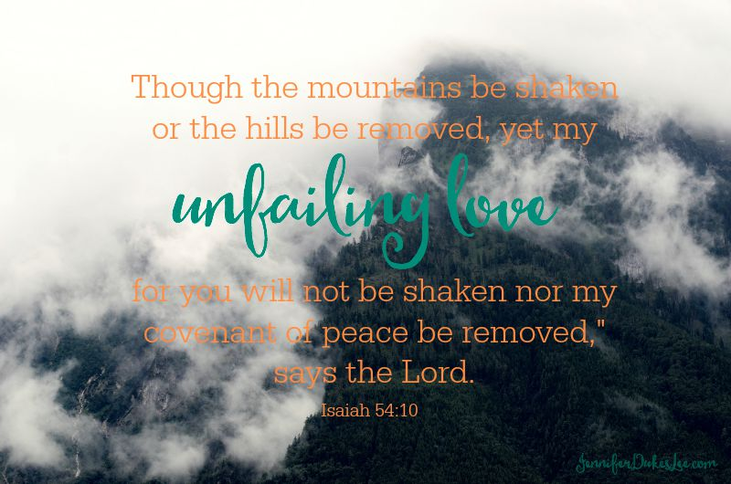 God's love is unfailing