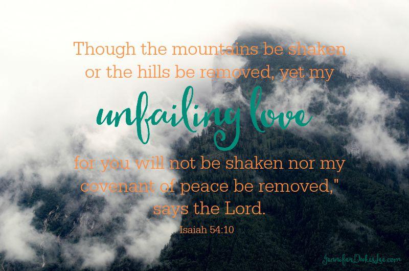 God's love is unfailing