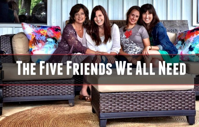 the five friends we all need -- #TellHisStory