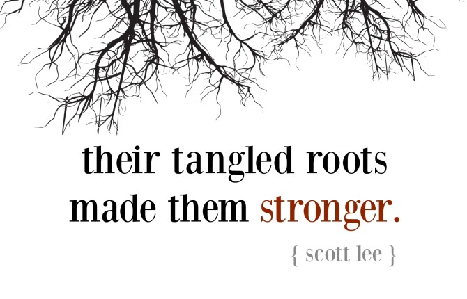 The Tale of Two Trees -- #TellHisStory (Guest Post by Scott Lee!)
