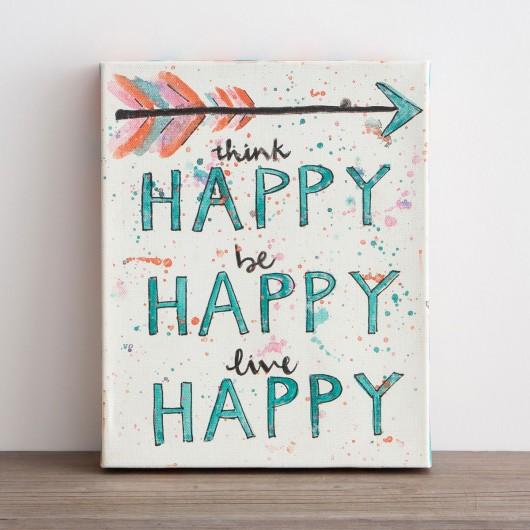 Think Happy. Be Happy. Live Happy!