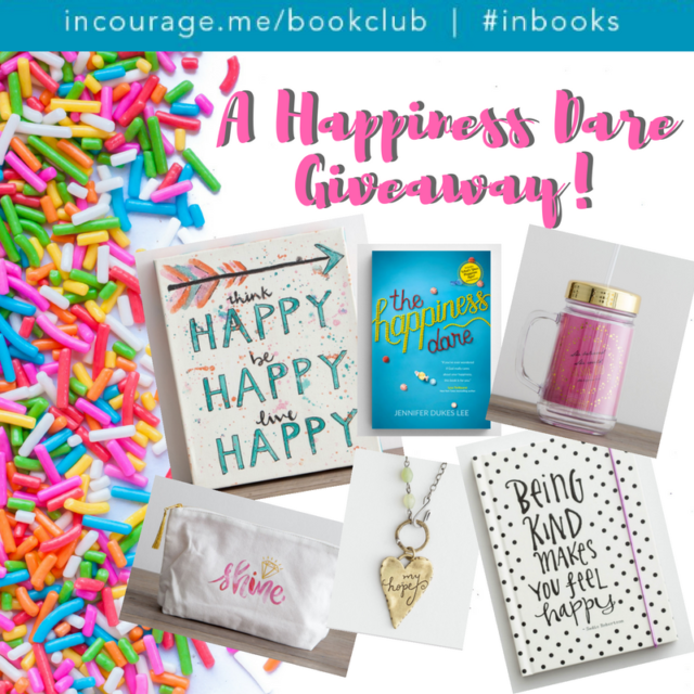 A Happiness Dare Giveaway!
