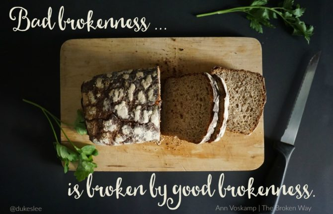 how taking the broken way leads you to real wholeness