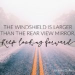 windshield, rear view mirror