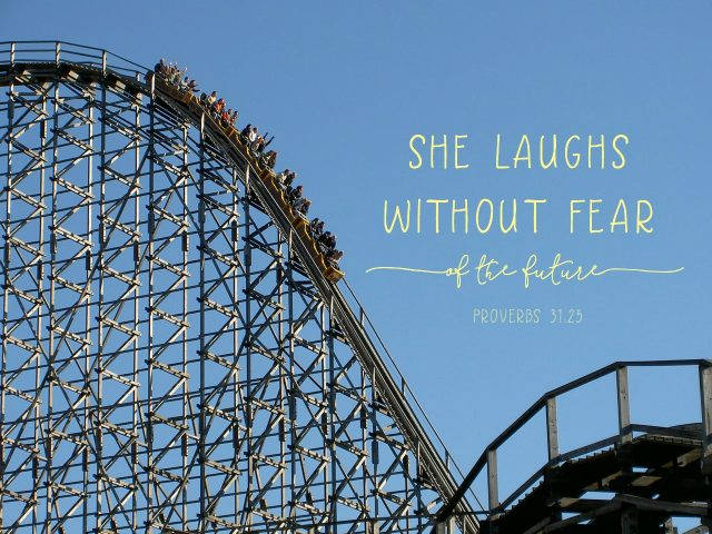 she laughs without fear