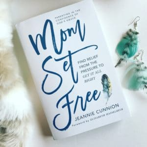 Mom Set Free, Jeannie Cunnion
