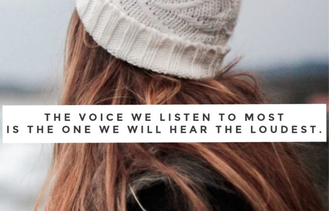Which voice do you hear?