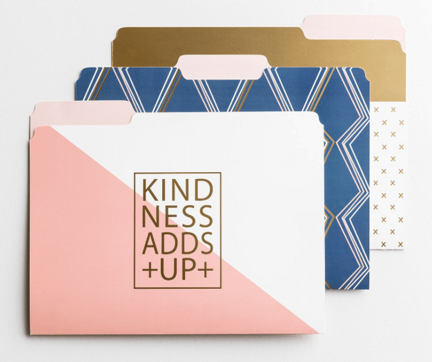Kindness File Folders