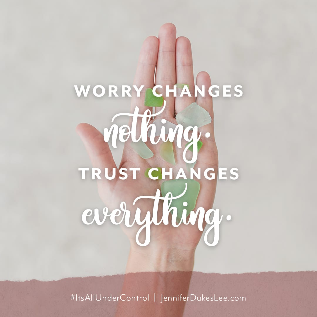 Worry Changes Nothing